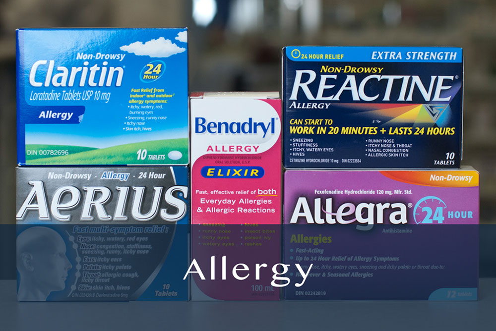 allergy products