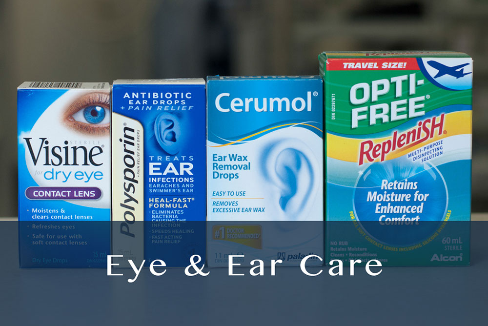 eye & ear care products