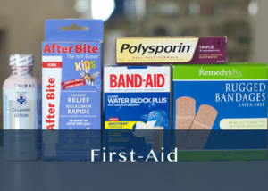 first-aid products
