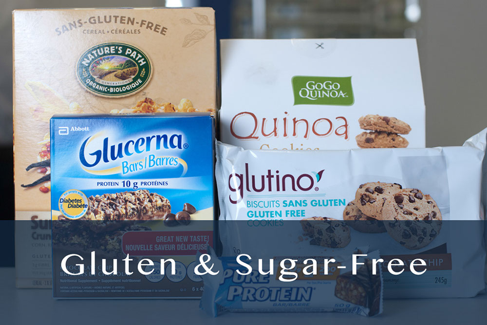 gluten & sugar-free products