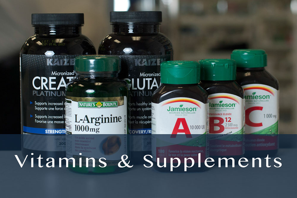 vitamins & supplements products