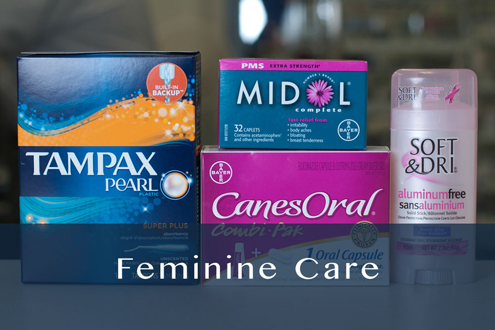 feminine care products
