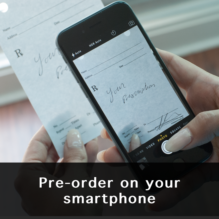 pre-order on your smartphone