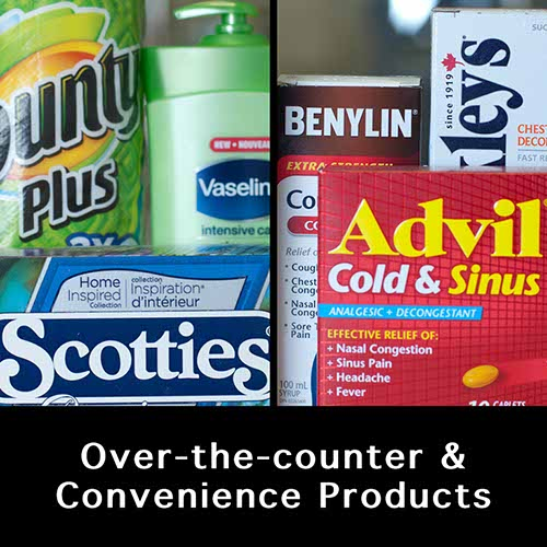 over the counter & convenience products